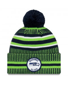 Seattle Seahawks New Era 2019 NFL Official On-Field Sideline Cold Weather Home Sport 1976 Wintermütze