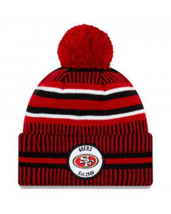 San Francisco 49ers New Era 2019 NFL Official On-Field Sideline Cold Weather Home Sport 1946 Wintermütze