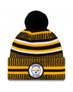 Pittsburgh Steelers New Era 2019 NFL Official On-Field Sideline Cold Weather Home Sport 1933 Wintermütze