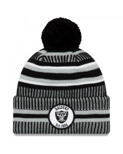 Oakland Raiders New Era 2019 NFL Official On-Field Sideline Cold Weather Home Sport 1960 Wintermütze