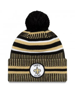 New Orleans Saints New Era 2019 NFL Official On-Field Sideline Cold Weather Home Sport 1967 Wintermütze