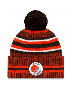 Cleveland Browns New Era 2019 NFL Official On-Field Sideline Cold Weather Home Sport 1946 Wintermütze