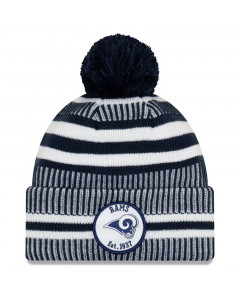 Los Angeles Rams New Era 2019 NFL Official On-Field Sideline Cold Weather Home Sport 1937 Wintermütze