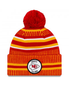 Kansas City Chiefs New Era 2019 NFL Official On-Field Sideline Cold Weather Home Sport 1960 Wintermütze
