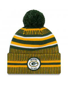Green Bay Packers New Era 2019 NFL Official On-Field Sideline Cold Weather Home Sport 1919 Wintermütze