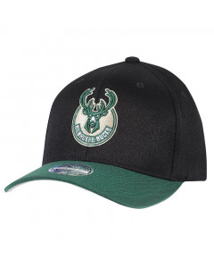 Milwaukee Bucks Mitchell & Ness 2 Tone 110 Flexfit kapa