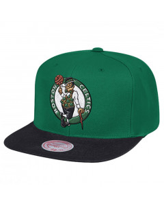 Boston Celtics Mitchell & Ness Team Logo 2 Tone kapa