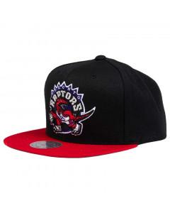 Toronto Raptors Mitchell & Ness Team Logo 2 Tone Mütze
