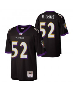 Ray Lewis 52 Baltimore Ravens 2004 Mitchell & Ness Throwbacks Legacy dres