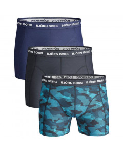 Björn Borg Solid Essential Shadeline 3x Boxershort