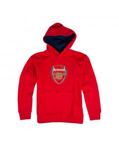 Arsenal Crest otroški pulover s kapuco