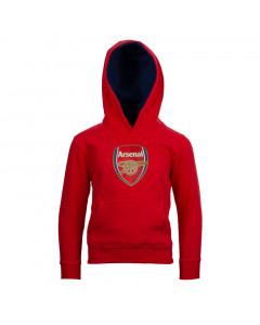 Arsenal Crest Kinder Kapuzenpullover Hoody