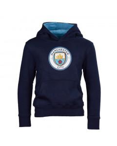 Manchester City Crest dječji pulover sa kapuljačom