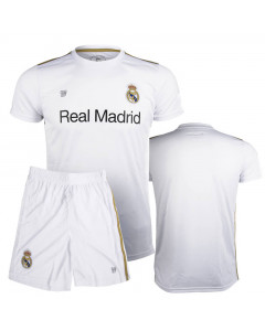 Real Madrid Poly Kinder Training Trikot Komplet Set