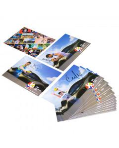 OZS Karten Spieler mit eigenhändiger Unterschrift Komplet