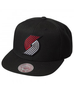 Portland Trail Blazers Mitchell & Ness Solid Team Colour kačket