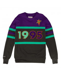 NBA All Star Mitchell & Ness Head Coach Crew Pullover