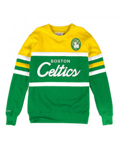 Boston Celtics Mitchell & Ness Head Coach Crew Pullover