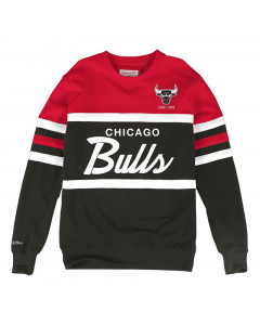 Chicago Bulls Mitchell & Ness Head Coach Crew Pullover