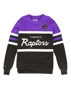 Toronto Raptors Mitchell & Ness Head Coach Crew pulover