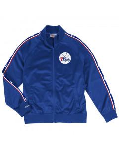Philadelphia 76ers Mitchell & Ness Track jakna