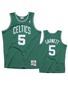 Kevin Garnett 5 Boston Celtics 2007-08 Mitchell & Ness Road Swingman dres