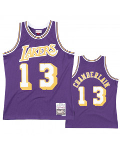 Wilt Chamberlain 13 Los Angeles Lakers 1971-72 Mitchell & Ness Road Swingman dres