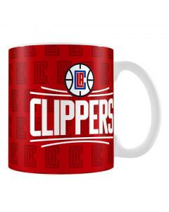 Los Angeles Clippers Team Logo skodelica