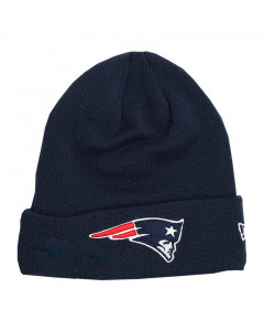 New England Patriots New Era Team Cuff Wintermütze