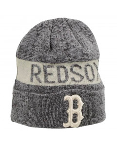 Boston Red Sox New Era Marl Cuff Wintermütze