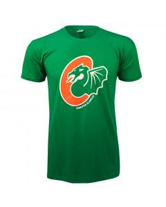 KK Cedevita Olimpija T-Shirt Logo grün