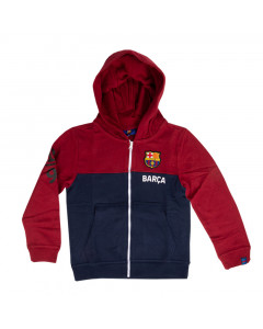 FC Barcelona Kinder Kapuzenjacke