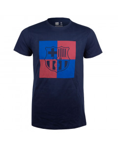 FC Barcelona Chess N°2 T-Shirt Navy