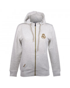 Real Madrid N°5 Damen Kapuzenjacke