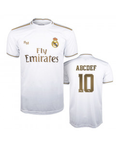 Real Madrid Home Replica Trikot (Druck nach Wahl +15€)