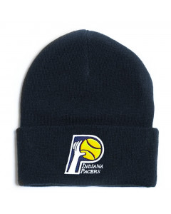 Indiana Pacers Mitchell & Ness Team Logo Cuff Wintermütze