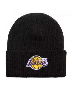 Los Angelse Lakers Mitchell & Ness Team Logo Cuff Wintermütze