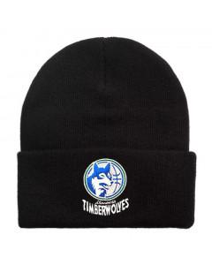 Minnestota Timberwolves Mitchell & Ness Team Logo Cuff zimska kapa