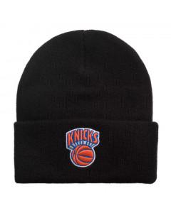 New York Knicks Mitchell & Ness Team Logo Cuff Wintermütze