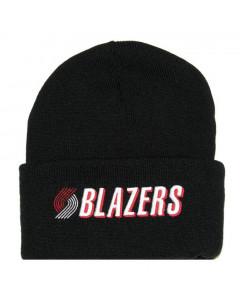 Portland Trail Blazers Mitchell & Ness Team Logo Cuff zimska kapa