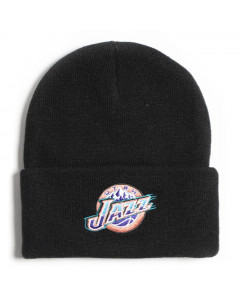 Utah Jazz Mitchell & Ness Team Logo Cuff Wintermütze