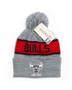 Chicago Bulls Mitchell & Ness Team Tone Wintermütze
