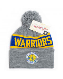 Golden State Warriors Mitchell & Ness Team Tone Wintermütze