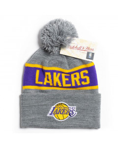 Los Angelse Lakers Mitchell & Ness Team Tone Wintermütze
