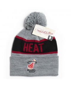 Miami Heat Mitchell & Ness Team Tone Wintermütze