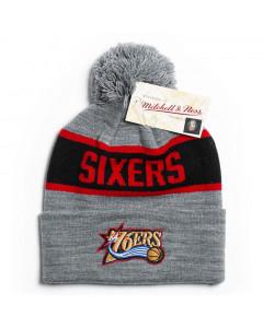 Philadelphia 76ers Mitchell & Ness Team Tone zimska kapa