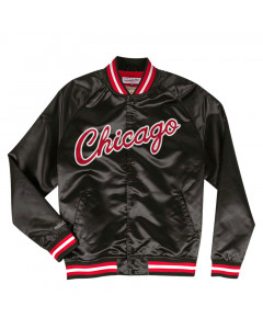 Chicago Bulls Mitchell & Ness Team Lightweight Satin Jacke