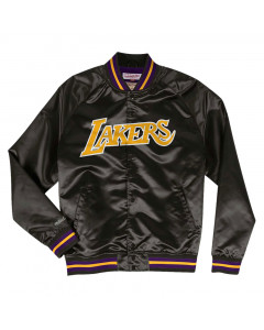 Los Angeles Lakers Mitchell & Ness Team Lightweight Satin Jacke