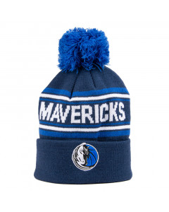 Dallas Mavericks Cuff Pom Youth dečja zimska kapa 58-62 cm