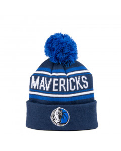 Dallas Mavericks Cuff Pom Kids Kinder Wintermütze 52-58 cm